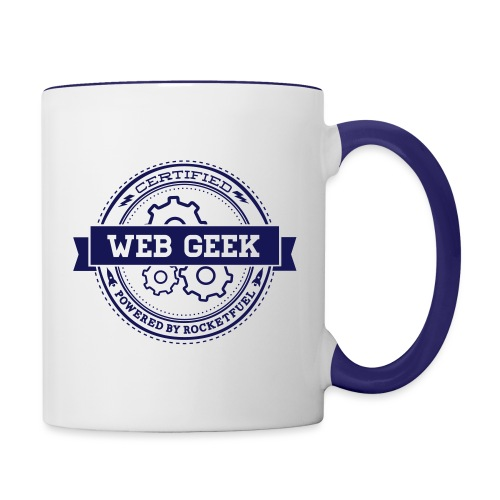 Web Geek Gears Contrast Coffee Mug - Contrast Coffee Mug