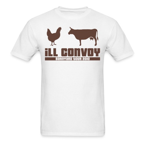 iLL CONVOY - BROWN CHICKEN BROWN COW T-Shirt - Men's T-Shirt