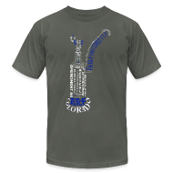 T-Shirts ~ Men's T-Shirt by American Apparel ~ TGTCF Bubbler Shirt