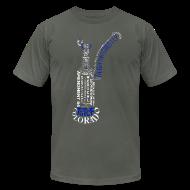 T-Shirts ~ Men's T-Shirt by American Apparel ~ TGTCF Bubbler Shirt