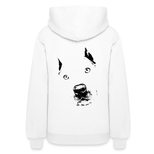 Pit bull elliot black female hoody - Women's Hoodie
