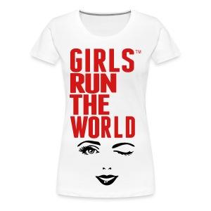 Girls Run The World - Women's Premium T-Shirt