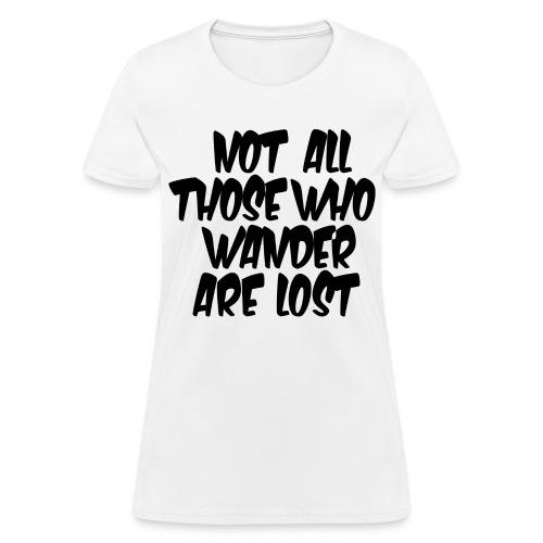 Wander - Women's T-Shirt