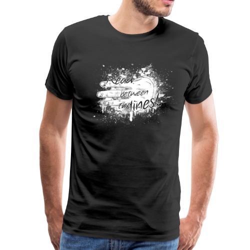 read between the lines - Men's Premium T-Shirt