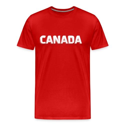 Canada Red Shirt - Mens - Men's Premium T-Shirt