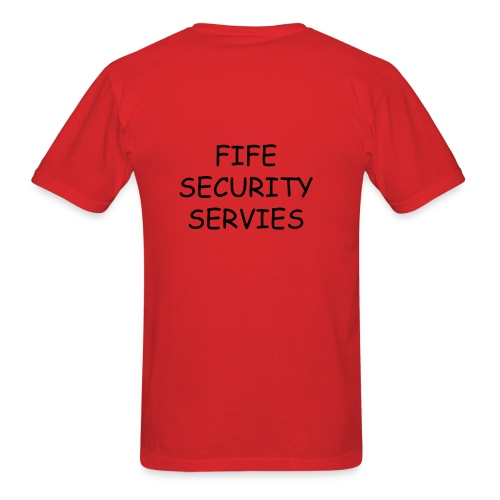fife security - Men's T-Shirt