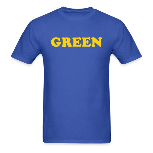 Blue and Yellow - Men's T-Shirt