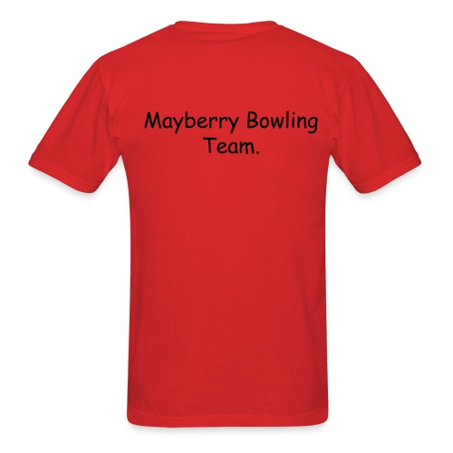 mayberry bowling team - Men's T-Shirt