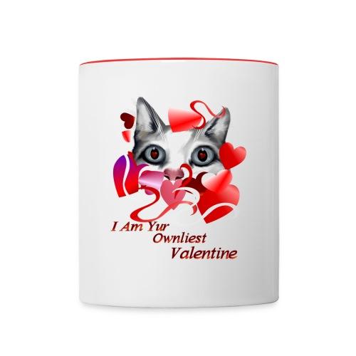Ownliest Valentine - Contrast Coffee Mug