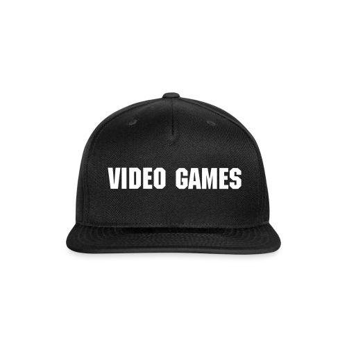 Video Games Hat - Snap-back Baseball Cap