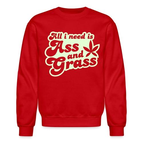 Ass N Grass - Crewneck Sweatshirt