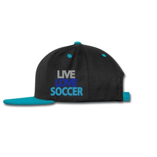 Live Love Soccer - Snap-back Baseball Cap