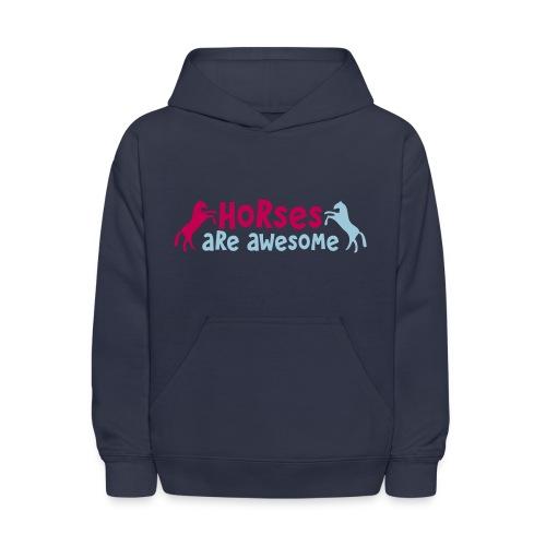 Horses are Awesome Kids SweatShirt - Kids' Hoodie