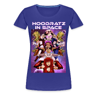 T-Shirts ~ Women's Premium T-Shirt ~ Hoodratz In Space