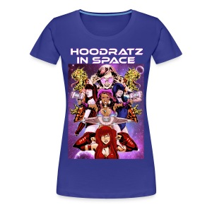 Hoodratz In Space Saving our Galaxy! T-shirt - Women's Premium T-Shirt