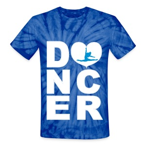 dancer tiedye - Unisex Tie Dye T-Shirt