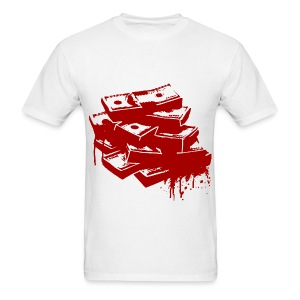 blood money mens shirt - Men's T-Shirt