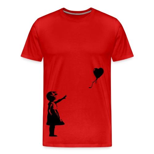 Ballon Girl -Banksy - Men's Premium T-Shirt