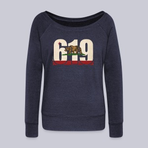 619 Flag - Women's Wideneck Sweatshirt