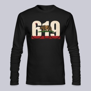 619 Flag - Men's Long Sleeve T-Shirt by Next Level