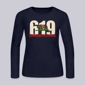 619 Flag - Women's Long Sleeve Jersey T-Shirt