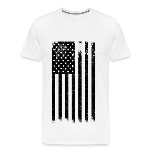 U.S.A Flag T-Shirt - Men's Premium T-Shirt