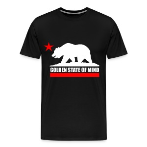 Golden State Of Mind T-Shirt - Men's Premium T-Shirt