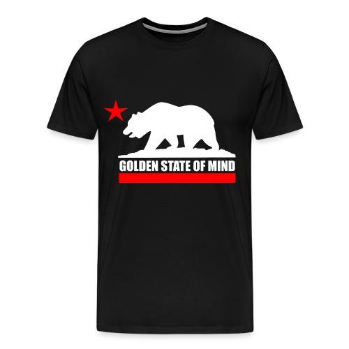 Golden State Of Mind T-Shirt - Men's Premium T-Shirt