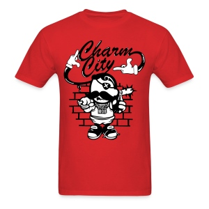 Charm City Dead Eye Boh  - Men's T-Shirt