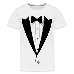 Custom Color Tuxedo Tshirt Kids' Shirts - Kids' Premium T-Shirt