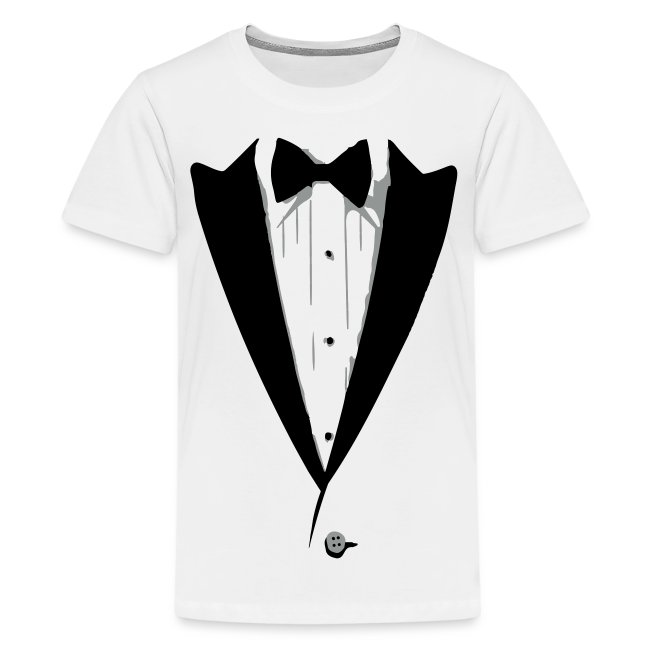 2f51a518 Madfunnytshirts Custom Tuxedo T Shirt Bow Tie Ume Kids
