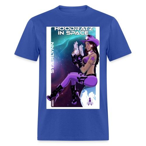Starlynn - Hoodratz In Space T-shirt - Men's T-Shirt