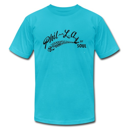 Phil-L.A. of Soul records yellow tee - Men's  Jersey T-Shirt