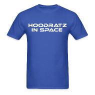 T-Shirts ~ Men's T-Shirt ~ Hoodratz In Space Title T-shirt