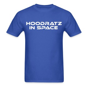 Hoodratz In Space Title T-shirt - Men's T-Shirt
