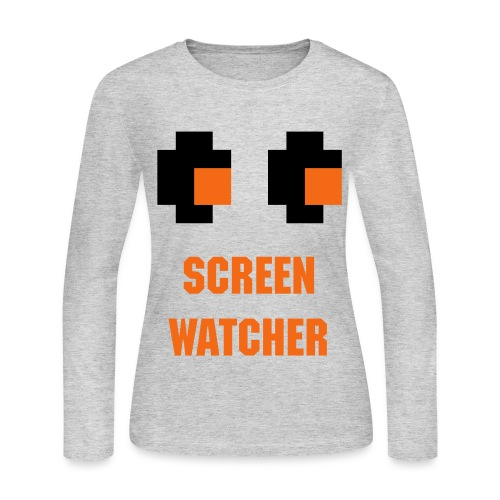 Screen Watcher CCG Shirt Women - Women's Long Sleeve Jersey T-Shirt