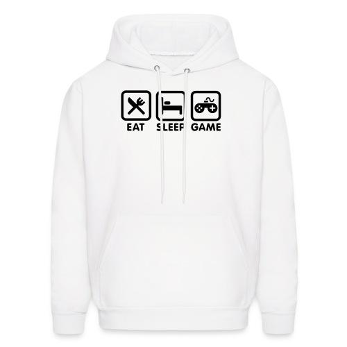 Eat Sleep Game Hooded Sweatshirt - Men's Hoodie