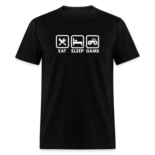 Eat Sleep Game T-Shirt - Men's T-Shirt