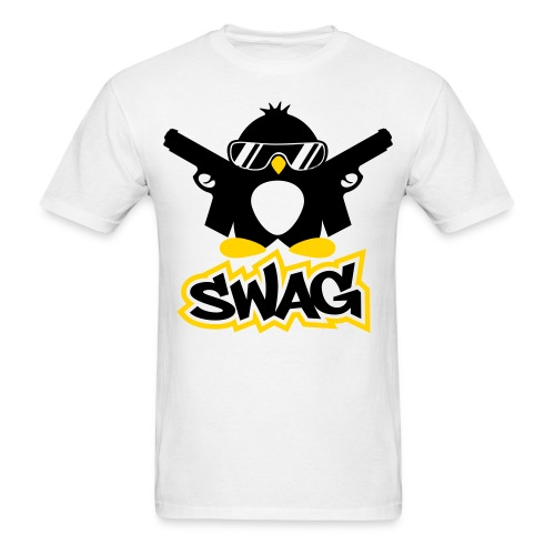 Assault Penguin Standar T-Shirt - Men's T-Shirt