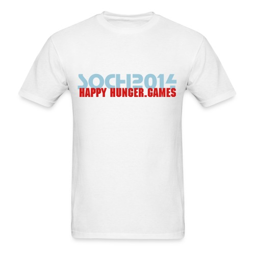 Sochi Happy Hunger.Games Standard T-Shirt - Men's T-Shirt