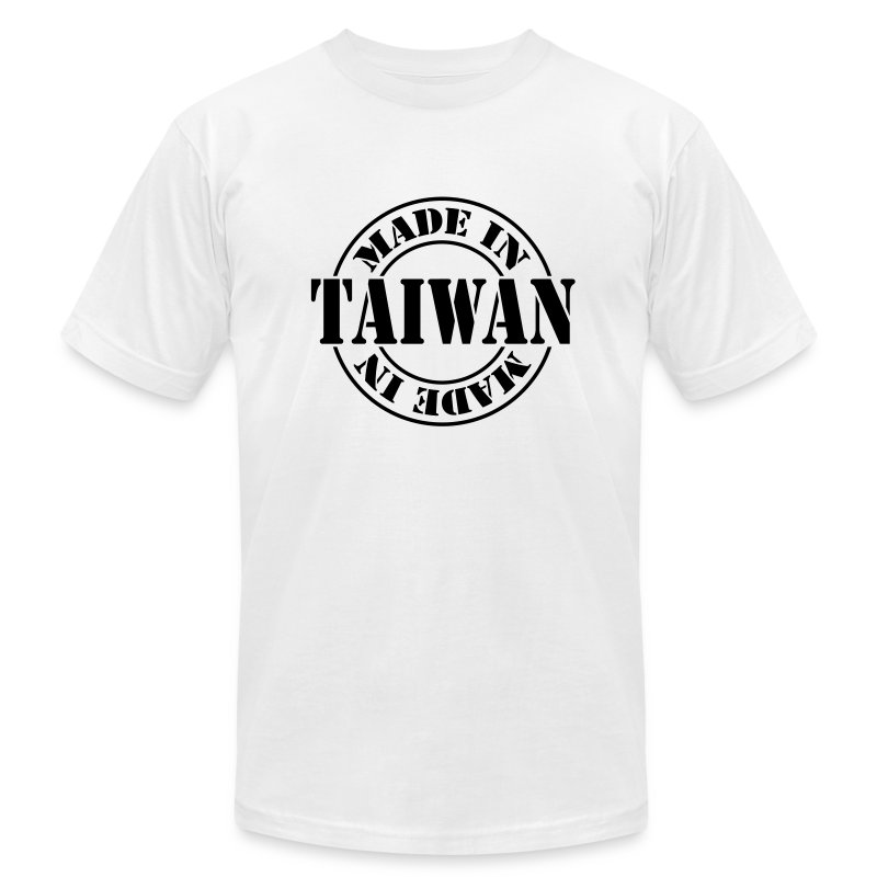 made in taiwan m1 t shirt spreadshirt. Black Bedroom Furniture Sets. Home Design Ideas