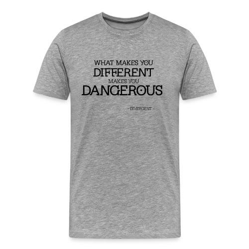 Divergent is Dangerous - Men's Premium T-Shirt