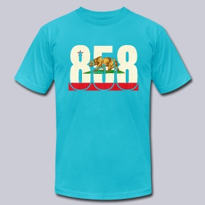 858 Flag - Men's T-Shirt by American Apparel