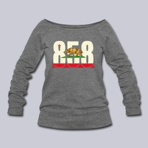 858 Flag - Women's Wideneck Sweatshirt