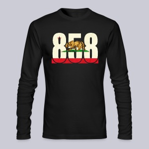 858 Flag - Men's Long Sleeve T-Shirt by Next Level