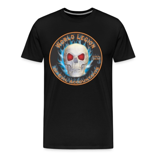 Legion of Evil Accountants - Men's Premium T-Shirt