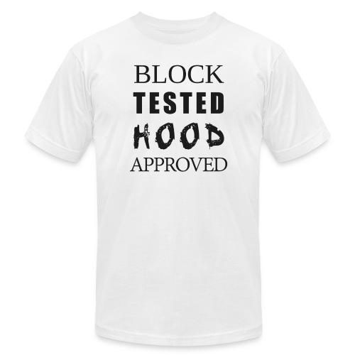 Block Test Hood Approved  - Men's  Jersey T-Shirt