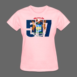 517 MI Flag - Women's T-Shirt