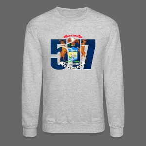 517 MI Flag - Crewneck Sweatshirt