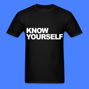 Know Yourself T-Shirts - Men's T-Shirt